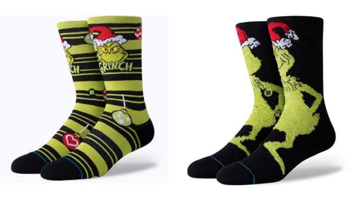 the grinch stance socks