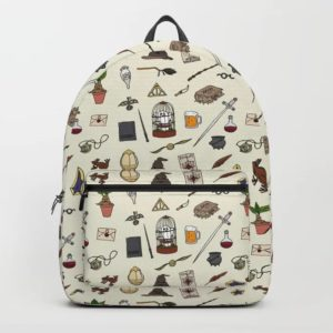 harry potter pattern backpacks