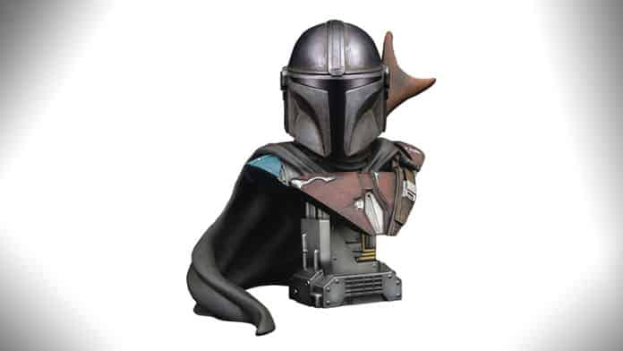 the mandalorian bust