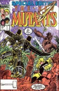 the new mutants #1 1985