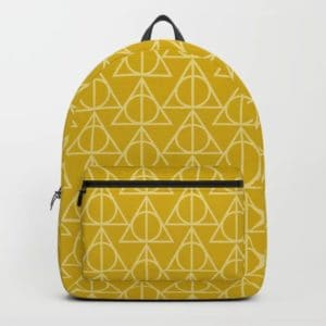 yellow hallows backpack