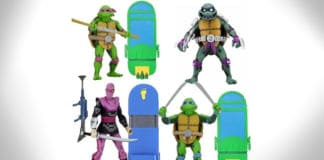tmnt turtles in time action figures