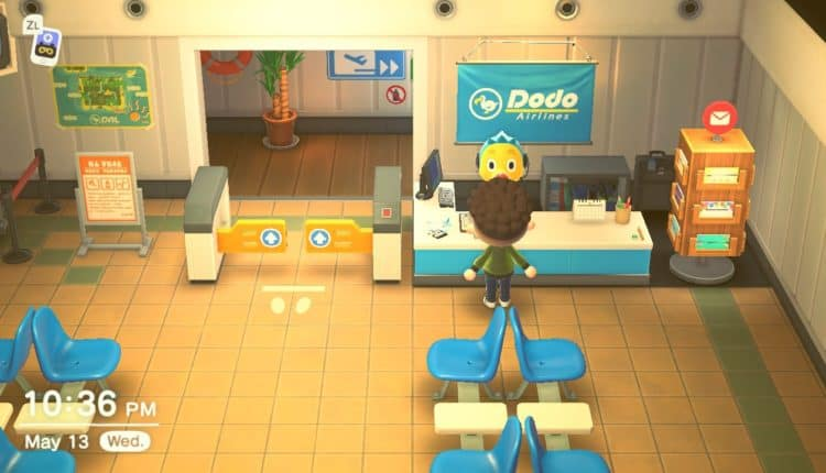 animal crossing airport