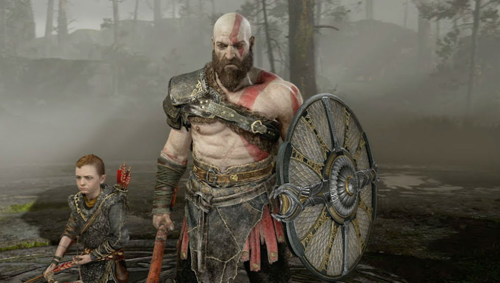 god of war boy