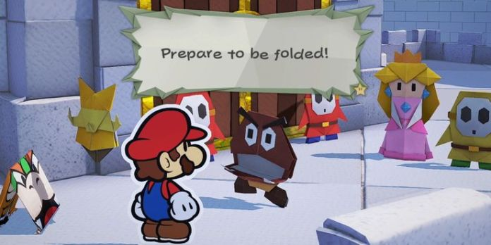 prepare to be folded