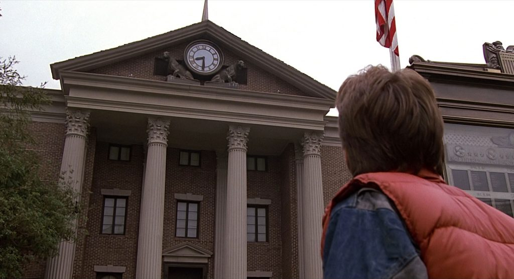 back to the future clock tower