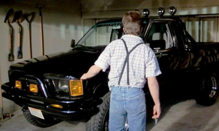 marty mcfly truck